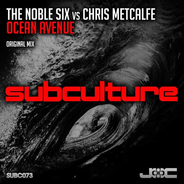 The Noble Six - Ocean Avenue (feat. Chris Metcalfe) - Single Cover