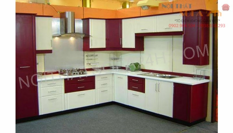 Tủ bếp TB025