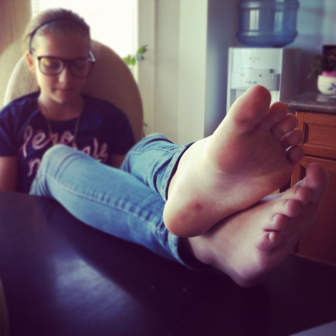 Teen feet photos