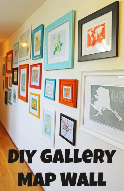 Running from the law 5 on friday volume 9 for Travel gallery wall ideas