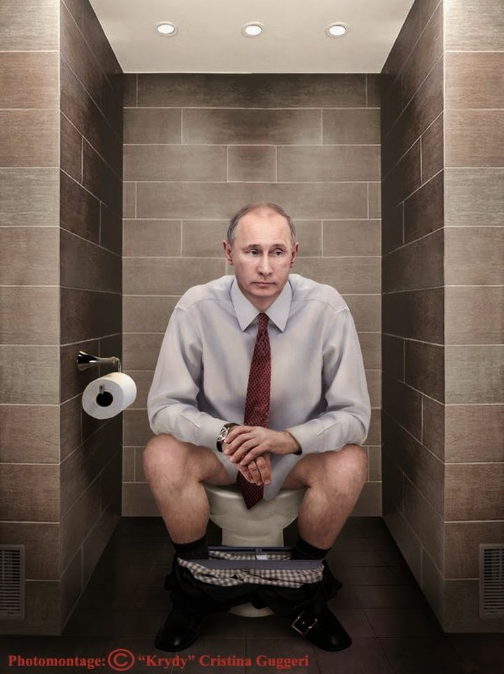 Leaders Sitting On The Toilet Spicytec