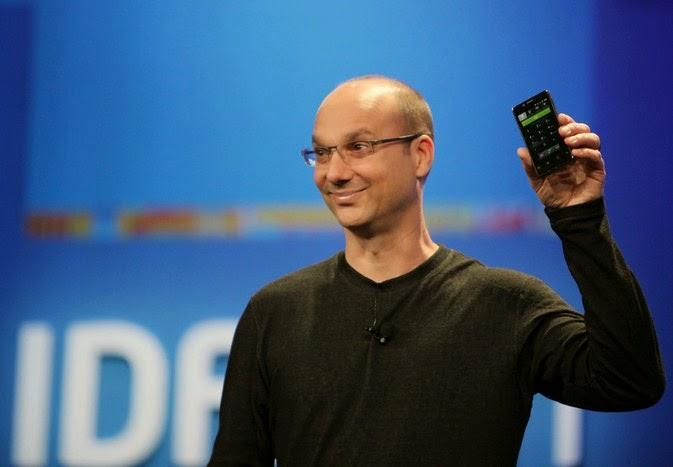 Penemu Android Resmi Meninggalkan Google