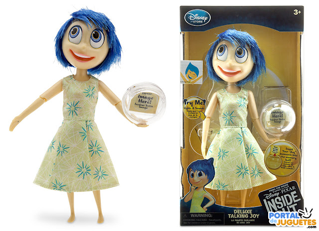 muñeca alegria del reves inside out disney store