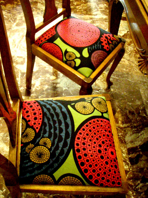 vintage chair makeover ikea fabric
