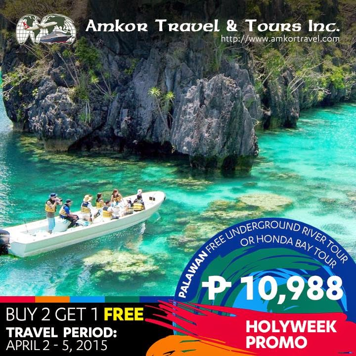 4d 3n Palawan Tour Package Holy Week Promo With Airfare 2015