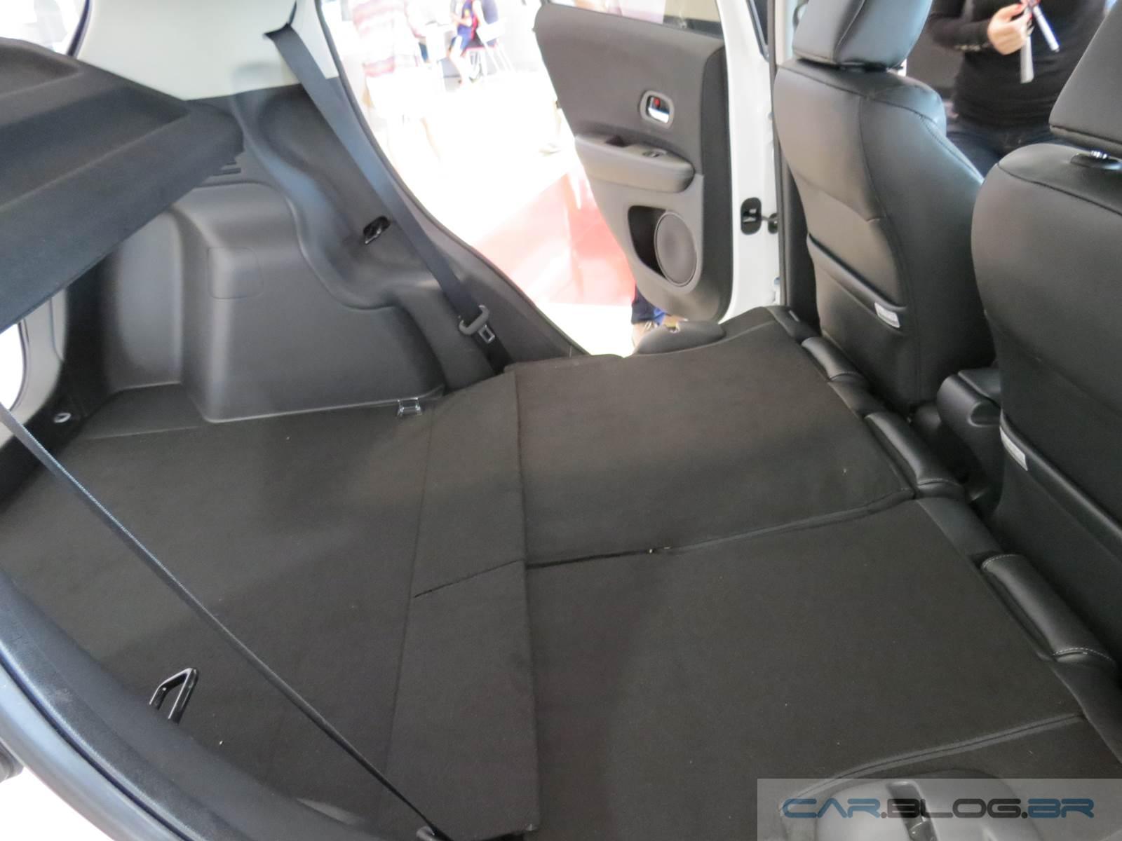 Honda HR-V EX-L porta-malas - interior
