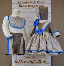 COLECCION  TOFFE AND BLUE.