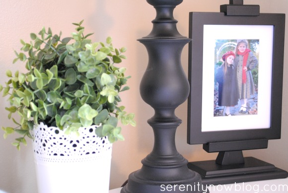 Using a Faux Plant in Home Decor, Serenity Now blog