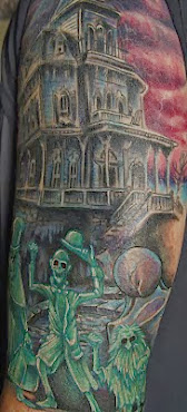 Kevs Haunted Mansion Tatoos