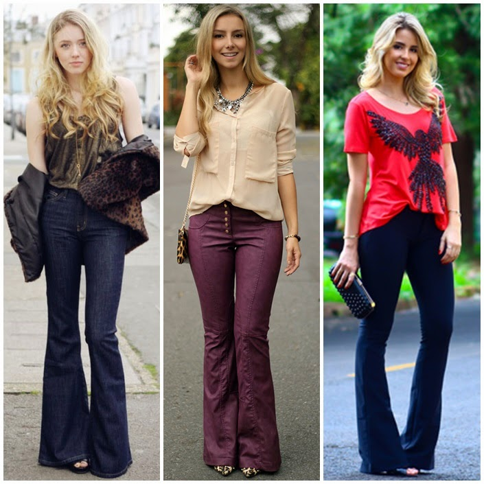 Diferenca calca boot cut ou flare