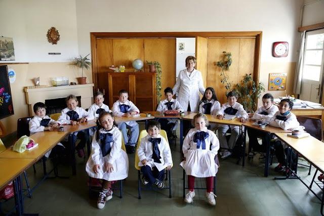 Minas şehrinde bir sınıf