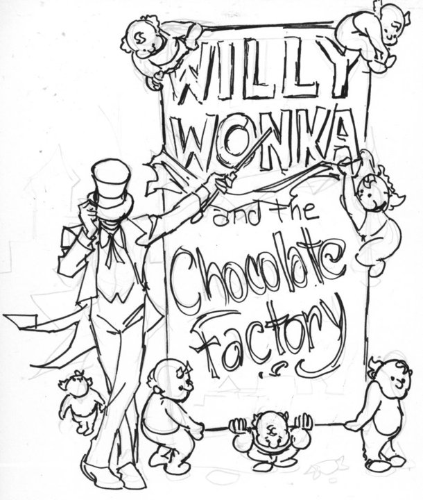 oompa loompa coloring pages - photo#7