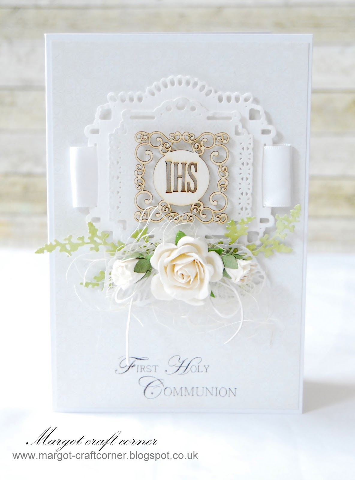 Scrap and craft first holy communion for First communion craft ideas