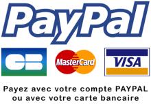 Paiement Securisé - Par Paypal ou par Carte Bancaire