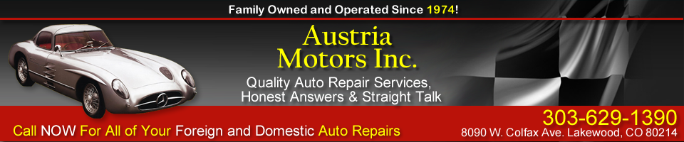 Lakewood Auto Repair Specializing in Mercedes Benz