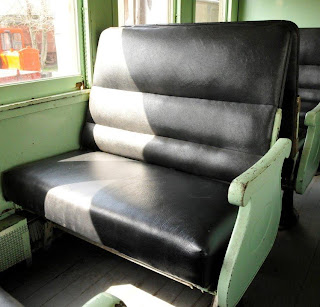 coach seat in good condition