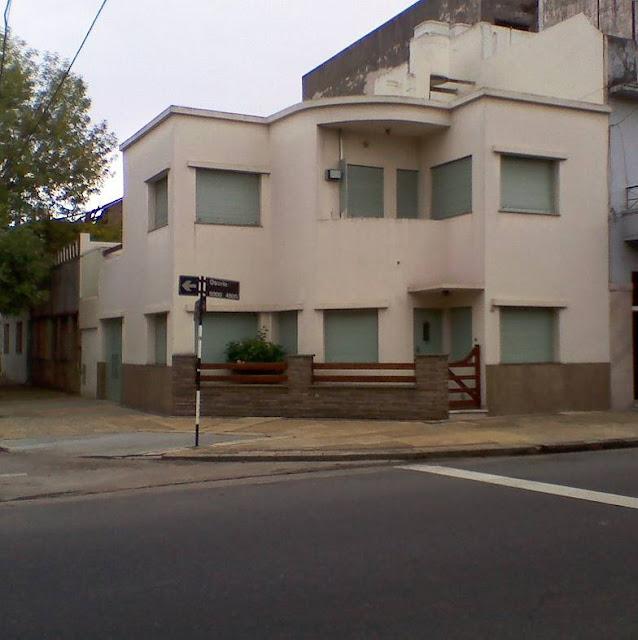 Casa moderna racionalista en Buenos Aires