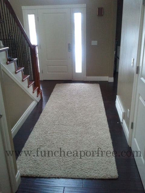 How To Make An Area Rug Out Of Remnant Carpet Fun Cheap