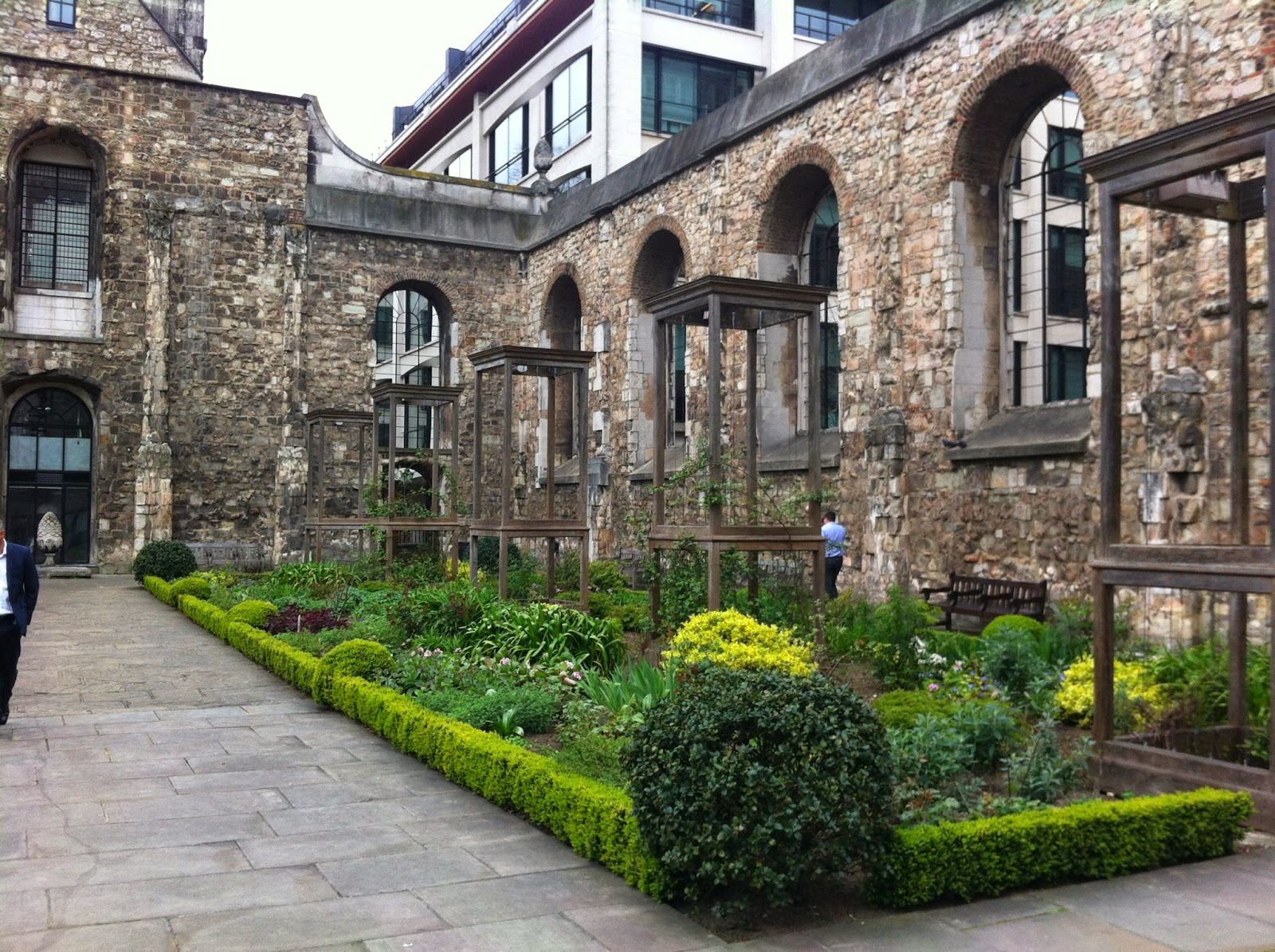 Christchurch Greyfriars Garden