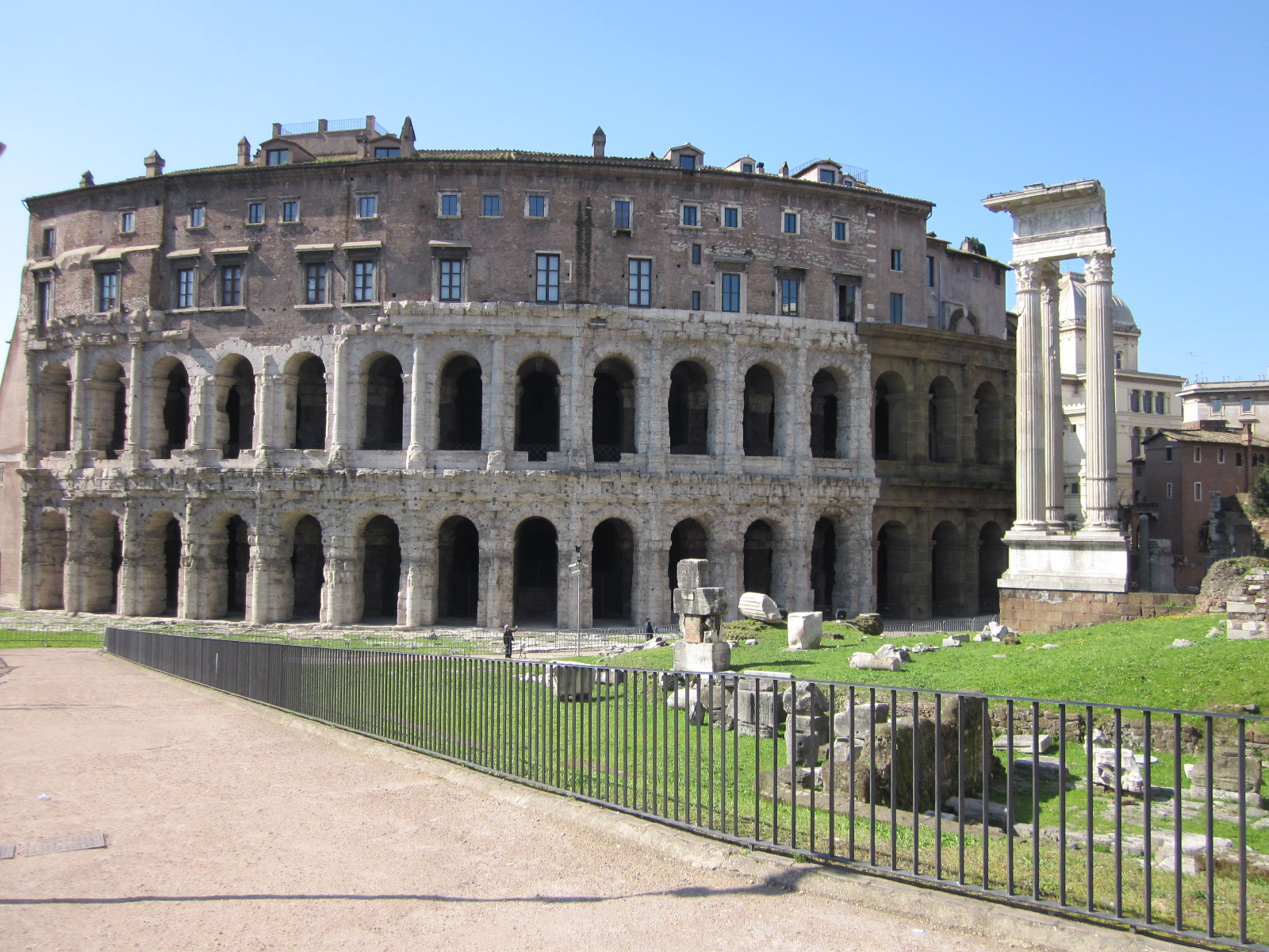 Sights of Rome: The Theater of Marcellus