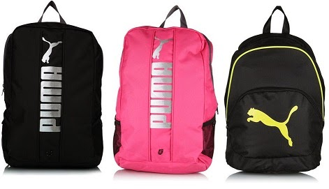 Puma Backpack just for Rs.420 Only (Flat 60% Off) Hurry Limited Stock