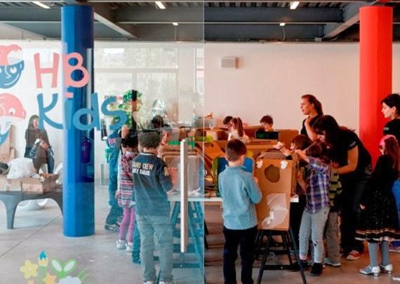 Laboratorio gratuito per bambini in Hangar Bicocca, sabato 2 novembre 2013