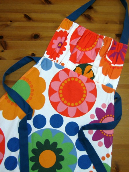 Fredrika Fabric Retro Apron  - Our Handmade Home