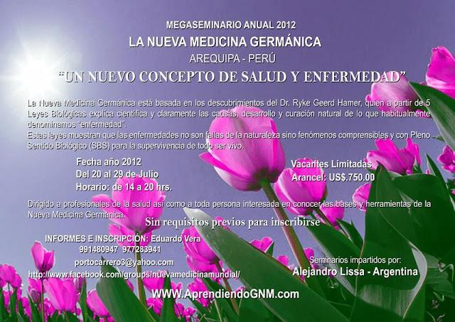 Primer Mega Seminario de NMG en Perú