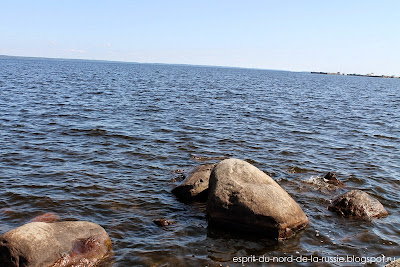 Carelie, Petrozavodsk, lac Onego