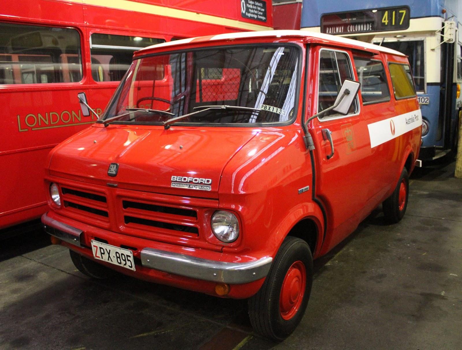 Bedford CF2 Van: Australia Pos...