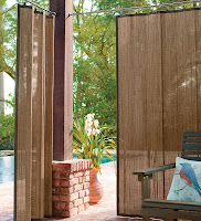 Bamboo Outdoor Curtain