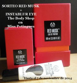 Aorteo Red Musk + Instablur Eye TBS Miss Potingues