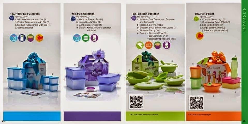 Katalog Tupperware Reguler November 2014 - Gift Collection