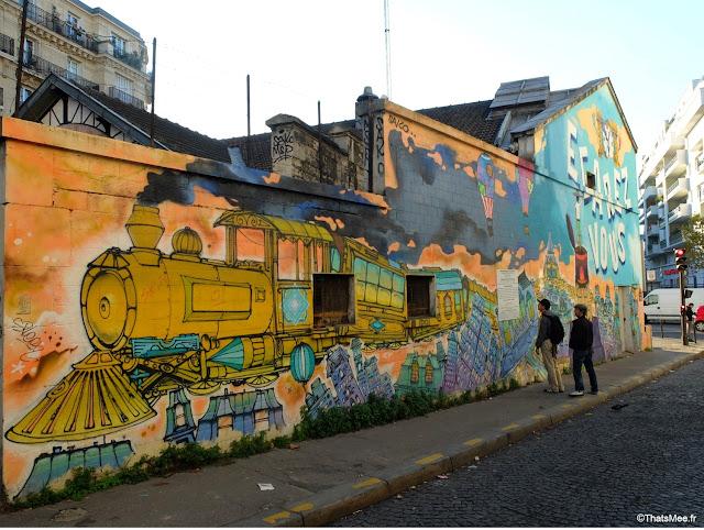 gare saint-ouen petite couronne street art train egarez-vous