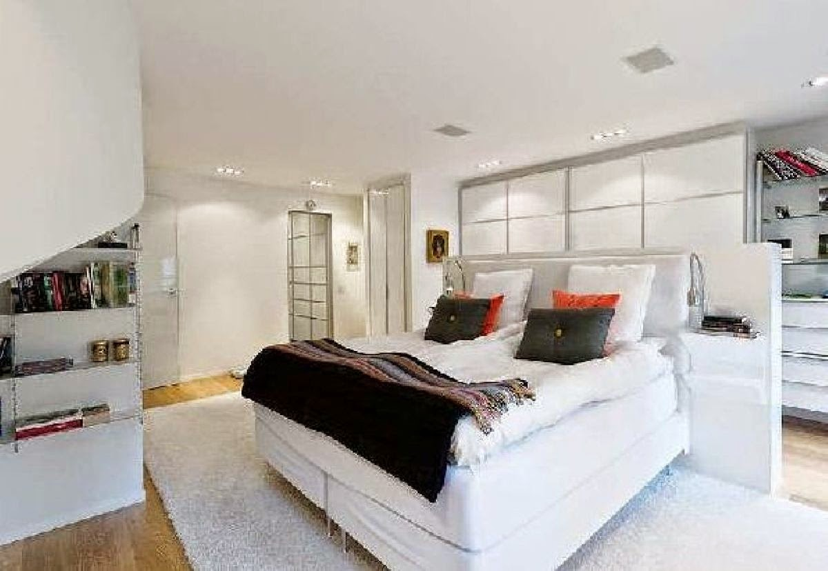 White Bedroom Design Modern