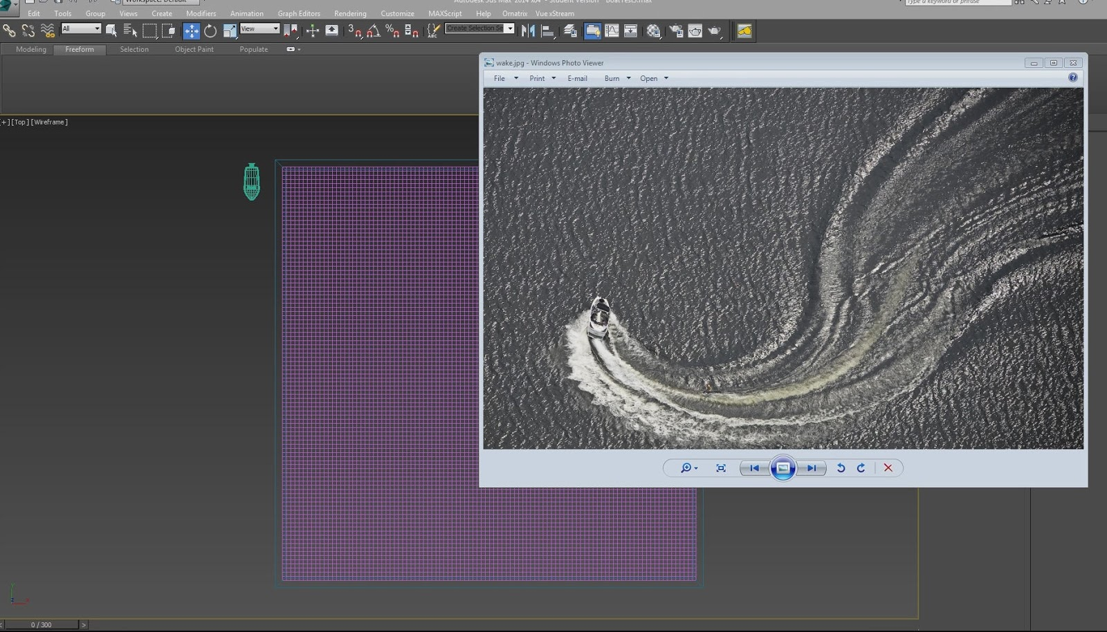 Water simulation tutorial in 3ds max without plugins cg for Tutorial 3d max