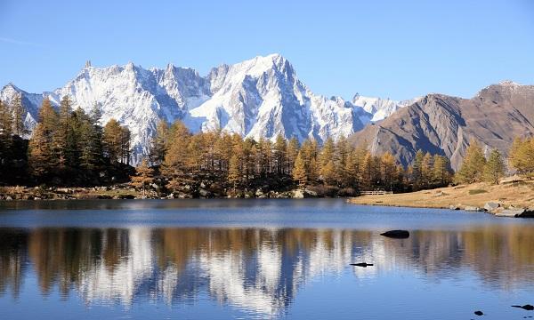 الجبل الأبيض ليس أعلى الجبال في إيطاليا وحسب بل في كل أوروبا