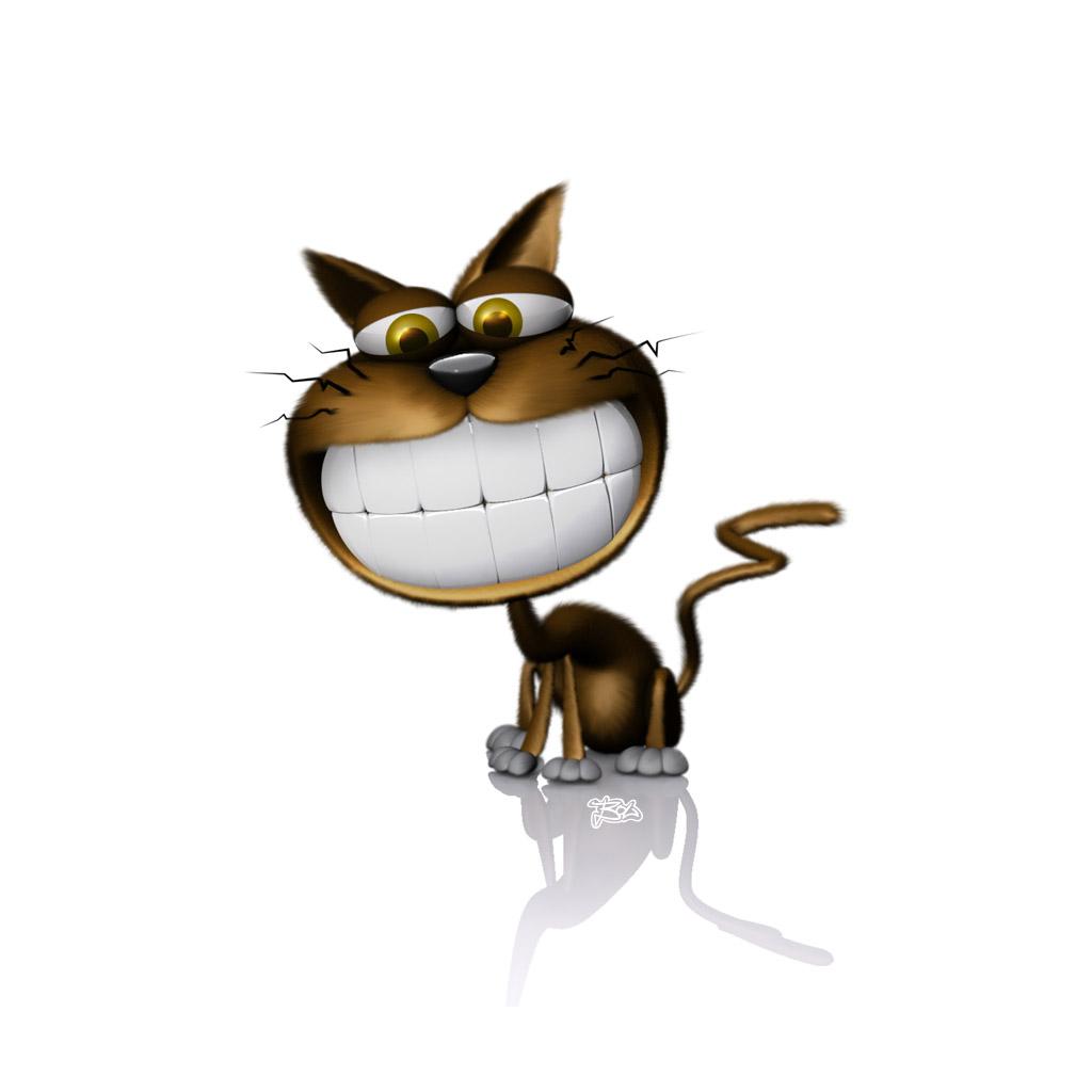 Cartoon Cats Wallpaper