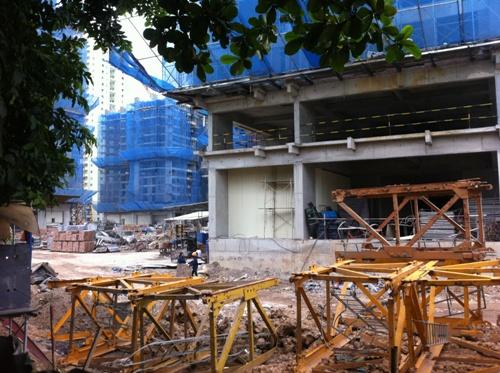 Tiến độ xây dựng chung cư Goldmark City