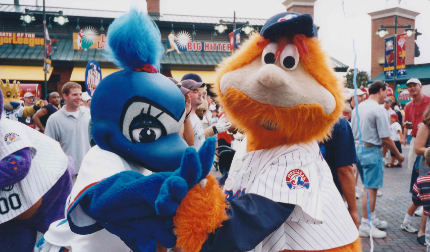 Flashback Friday: Diamond the Mascot | Blue Jay Hunter