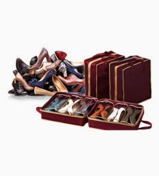 Buy Homfeder Shoe Tote Organizer at Lowest Online + Extra 25% Cashback pay Through Mobikwik Wallet at Rs.225 : Buy To Earn
