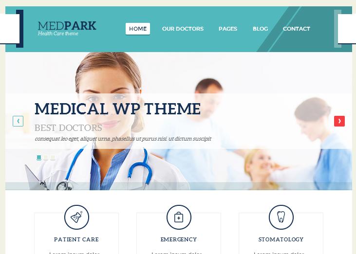 Theme wordpress untuk rumah sakit klinik bersalin bidan dokter spesialis