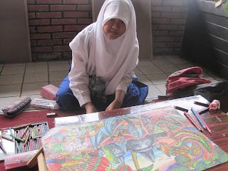 Subhanallah Lukisannya :), Nabilla Elsaphira Putri, Maestro Pelukis
