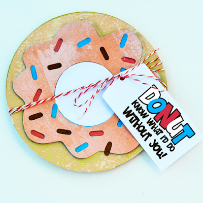 Lettering Delights, ilove2cutpaper, pazzles, pazzles inspiration, pazzles inspiration vue, inspiration vue, svg, wpc, cutting files, gift card holder, donut,