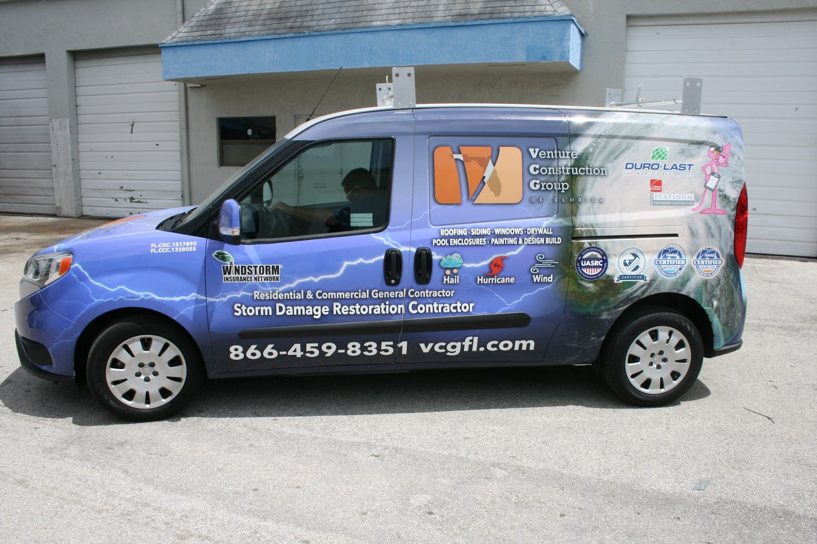 Dodge Commercial Van >> Ram Promaster City Van Commercial Vinyl Wrap & Graphics