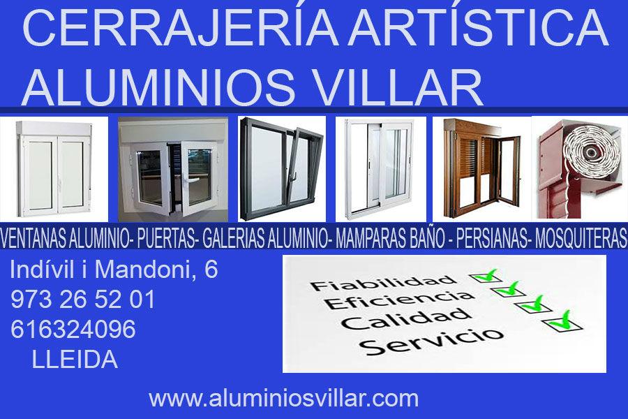 Cerrajería Artística - Aluminios Villar