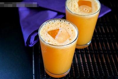 Tự làm nước ép dứa Cà rốt thanh mát cho ngày nóng