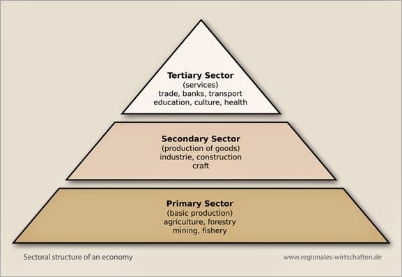 what are the different sectors of the economy