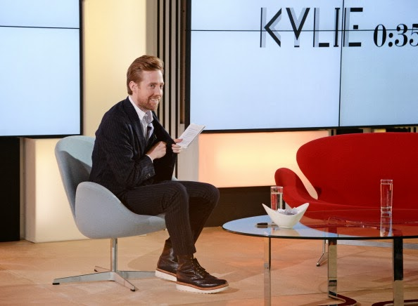 Ricky Wilson's Grenson 'Fred V' Boots - Kylie Minogue 'Kiss Me Once' Album Preview Event On Facebook