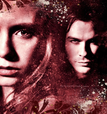 Damon and Elena TVD Digital Art